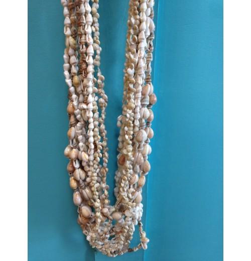 Collier coquillages sathyne bijoux