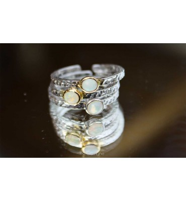 Bague Only Opale