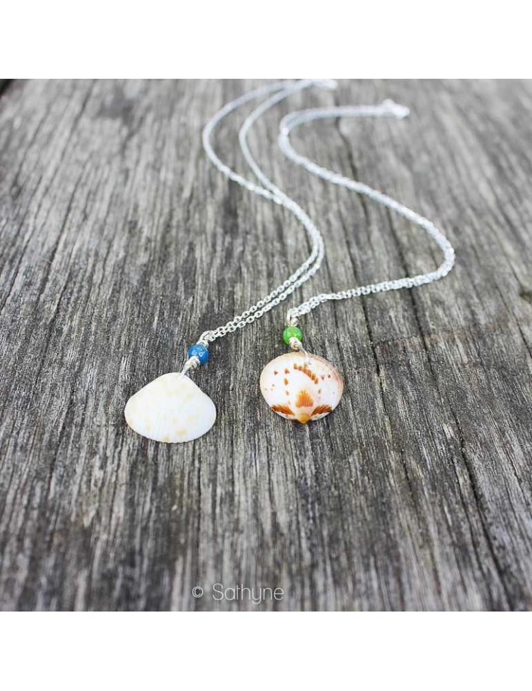 silver necklace Ondine