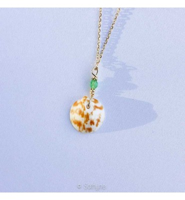 gold necklace Ondine