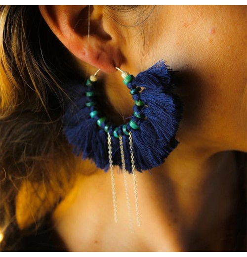 Hula earrings sathyne