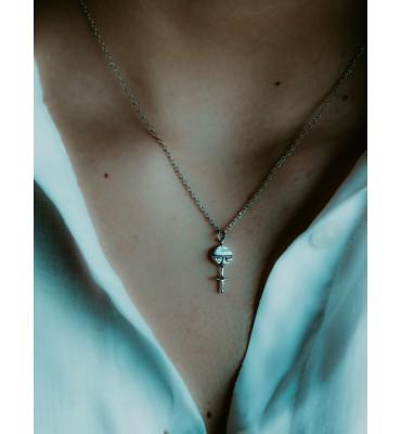 Ashanti doll, silver sathyne jewelry