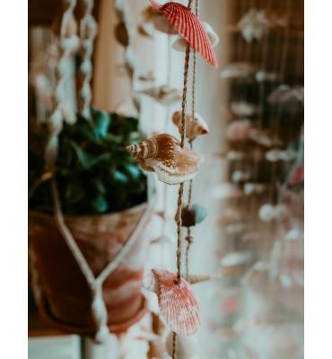 rideau de coquillages sathyne décoration