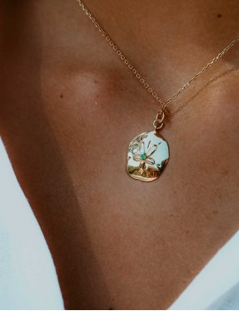 Collier dollar des sable,...