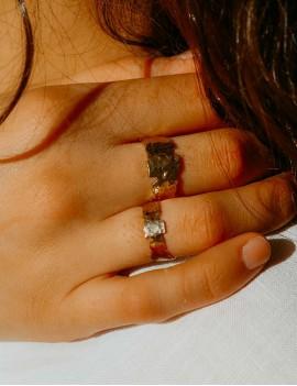 bague réglable, sathyne, bijoux