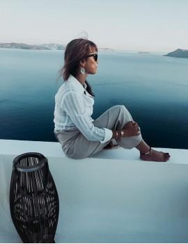 Pantalon Thaï, toile