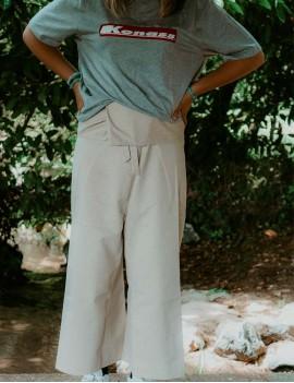 pantalon beige thai sathyne