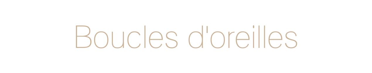 Boucles d'oreilles, Créoles, créations françaises, réalisées à la main.