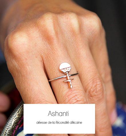 Ashanti déesse de la fécondité