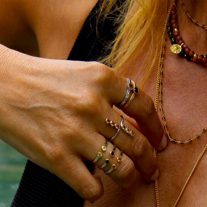 collection bijoux sathyne léopard