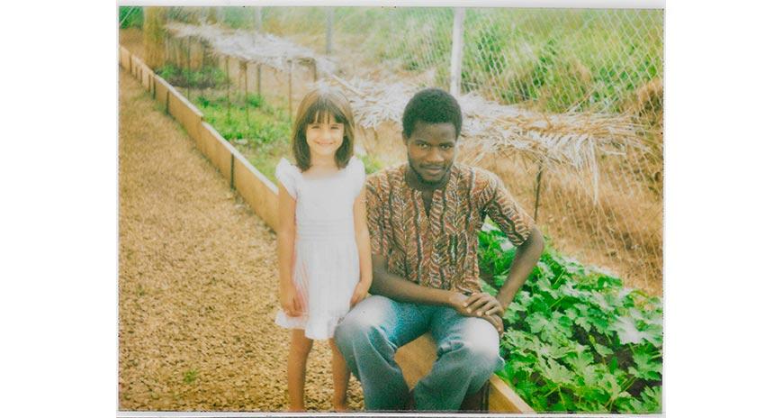 enfance en Afrique, fille d'expatriés