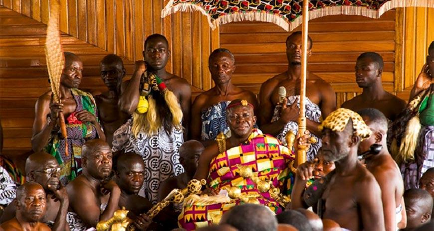 peuple Ashanti, déesse de la fécondité, Ghana, Afrique de l'Ouest