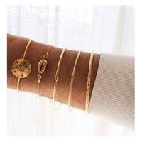 Bracelet du jour, for a Golden day....⠀ Le gling gling léger des joncs j'adore!!!!!!⠀ Le dollar des sables arrive en Avril, tellement hâte...⠀ Vous aimez ?⠀ Des bracelets à porter avec toutes vos tenues.⠀ ⠀⠀⠀ #sathynebijoux #braceletsor #creatricebijoux #solopreneur #mumpreneur