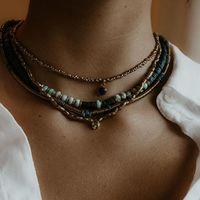 La collection ethnique chic . Retour des belles et grosses pièces, le genre de collier même porté seul il fait son effet. . Juste dans le décolleté d'une blouse ou d'une robe légère. . Même si en ce moment on est à la maison ce n'est pas une raison pour ne pas s'apprêter 😉 . Bon samedi 💋 . . . . . . . #sathyne #sathynebijoux #bijouxethniqueschics #bijouxethniques #ethniquechic #ethnicjewellery #madeinfrance #atelierdebijoux #créatricedebijoux #leslandes #sudouestdelafrance