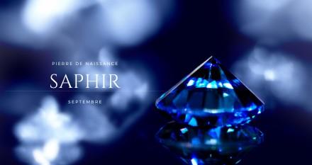 Saphir, pierre de septembre